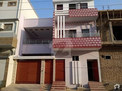 New Bungalow 180 Sq Yard Double Storey Available For Sale At Revenue Housing Society Phase 1 Qasimabad