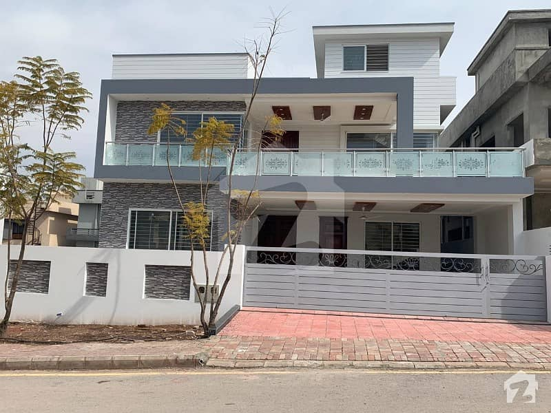 Prime Location 1 Kanal 7 Bedroom Triple Storey With Basement Brand New House For Sale In Bahria Enclave Islamabad Sector C