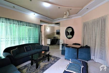 Fully Furnished With Separate Entrance 1 Kanal Upper Portion For Rent
