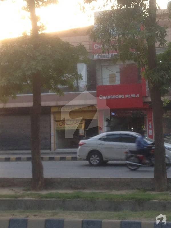 4 marla commercial shop single story at main boulevard pia housing society Lahore