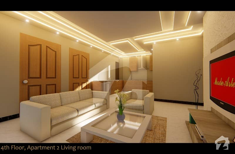 Furnished Apartment For Sale On Easy Installment Plan In Sector C Bahria Town