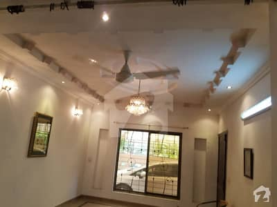 10 Marla Brand New Type Lower Portion Is For Rent in Wapda Town Housing Society Lahore J2 Block