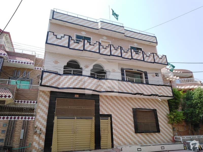 10 Marla & 80 Square Feet Triple Storey House For Sale