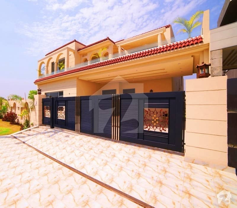 Syed Estates Offers 20 Marla Brand New Outclass Spanish Double Unit Bungalow For Sale