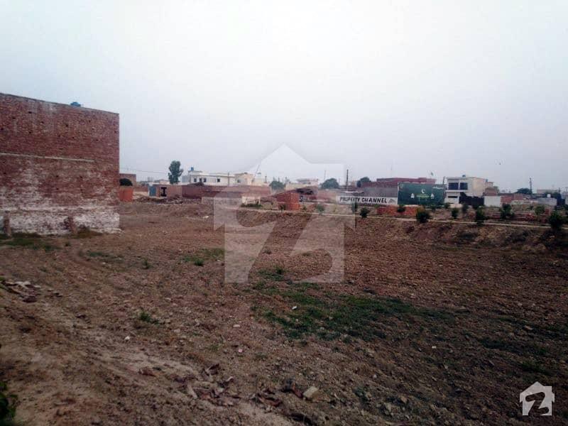 فیروزپور روڈ لاہور میں 5 مرلہ رہائشی پلاٹ 18.75 لاکھ میں برائے فروخت۔