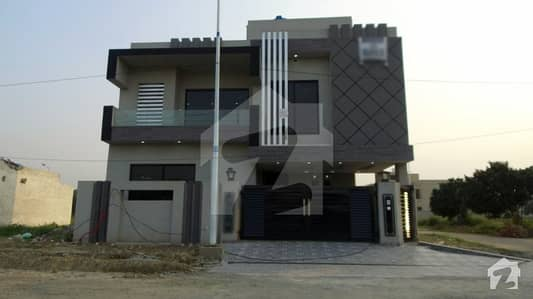 9 Marla Brand New Corner House For Sale In E Block Of Bankers Avenue Lahore