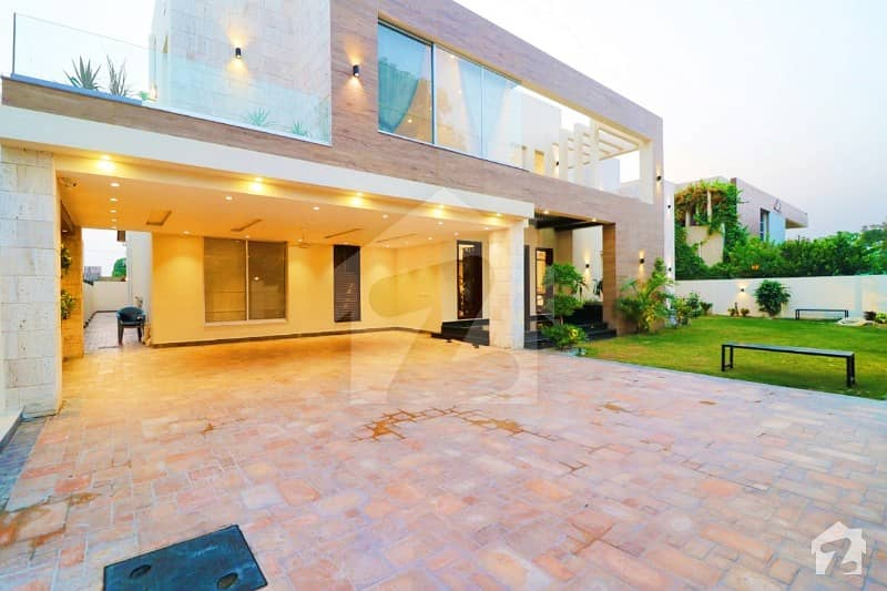 With Swimming Pool Fully Basement 2 Kanal Fully Furnished Bungalow For Sale