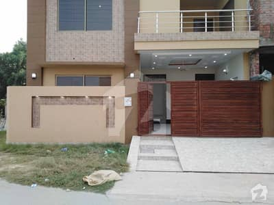 6 Marla brand New Corner House For Sale In Aa Block Of Canal Gardens Lahore.
