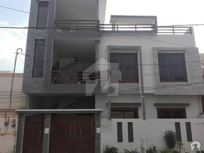 گلشنِ معمار - سیکٹر وی گلشنِ معمار گداپ ٹاؤن کراچی میں 6 کمروں کا 10 مرلہ مکان 2.4 کروڑ میں برائے فروخت۔