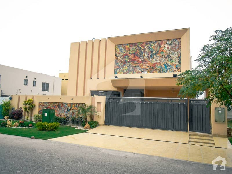 Magnificent Solid One Kanal Brand New Modern Bungalow With Basement For Sale