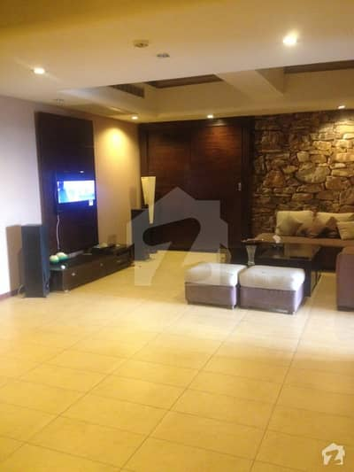 Three bedroom spacious apartment 2100sqft furnished for sale in Silver Oaks apartments F10 Islamabad