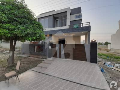10 Marla Modern Designer Villa For Sale In Wapda City Faisalabad