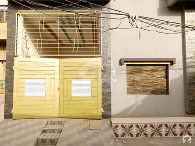Here Is A Good Opportunity To Live In A Well-Built House At Al Fayaz Colony Satiana Road