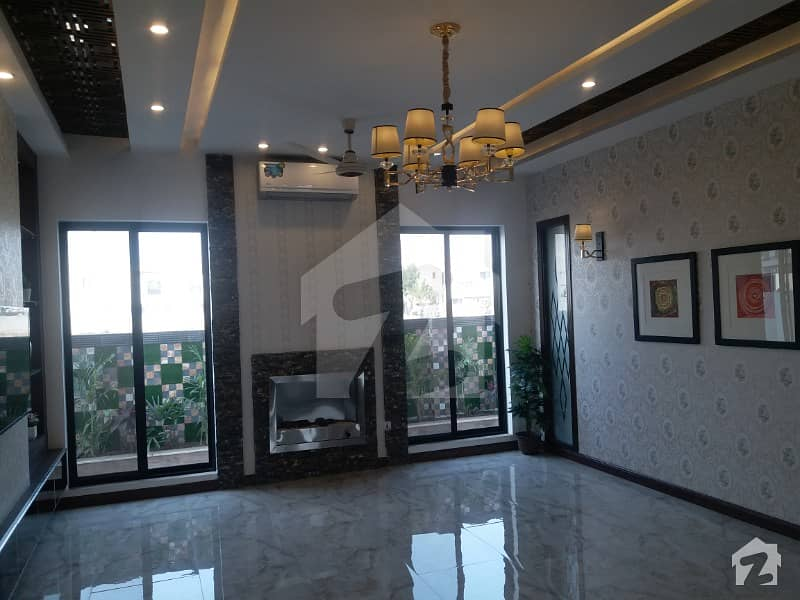 One Kanal Brand New Facing Park Bungalow For Sale In State Life Housing Society Good Location Near By Park And Ring Road Dha Phase 5