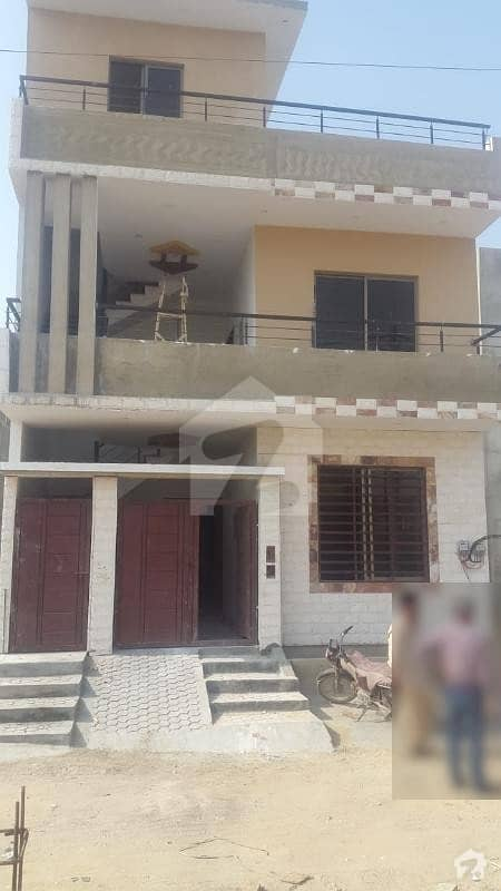 120 Sq Yd Double Storey New House Is Available For Sale