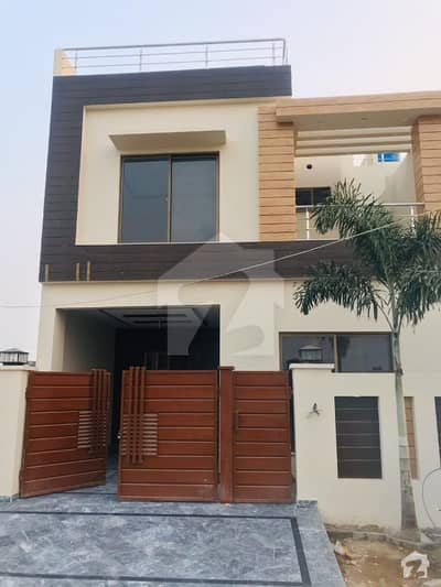 5 Marla Brand New Beautiful House Facing Park For Rent