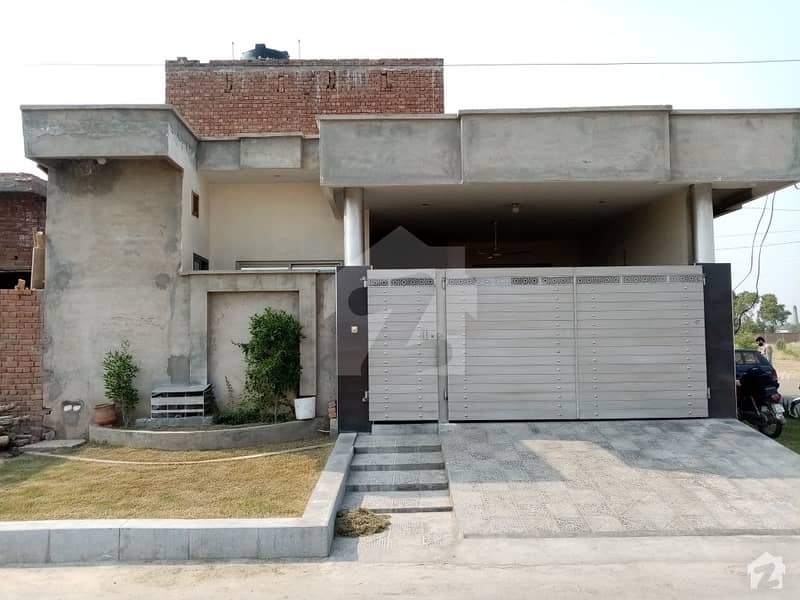 Here Is A Good Opportunity To Live In A Well-Built House At Khayaban R Green Satiana Road