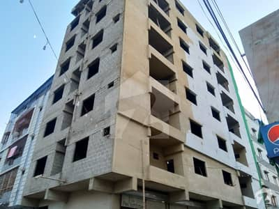 1400 Sq Ft Apartment  3 Bedrooms With Attach Bath  1st Floor Corner Building West Open  PNT Colony DHA Phase 4 Good Location