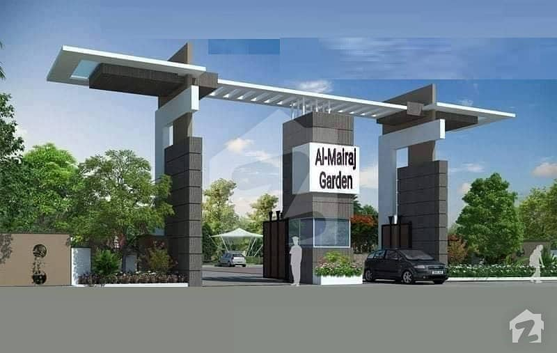 Al Mairaj Garden 6 Marla Main Boulevard Commercial Plot For Sale Its Best Investments