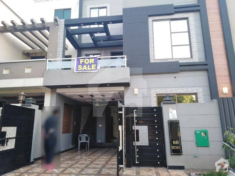 5 Marla Brand New Luxury House With Gas For Rent In Bahria Town Lahore