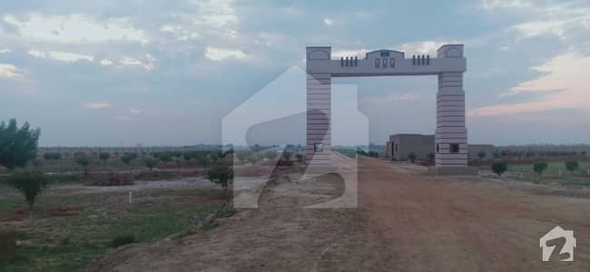 A Corner Residential Plot For Sale On Installment For Sale Shadmaan Town In Mian Qazi Ahmed Mor