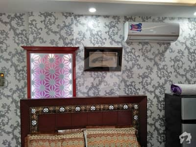 1 Bed Fully Furnished Luxury Flat Is Available  For Rent In Bahria Town Lahore