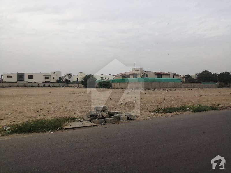 2000 Sq Yards Plot Is Up For Sale In Dha Phase Vi 25 Street Off Khayaban E Rahat