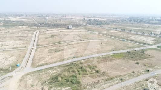 1 Kanal Possession Able Develop Plot On Main Aziz Khan Road All Dues Clear In University Town Islamabad