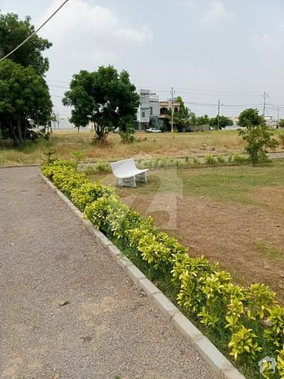 Plot Is  Available For Sale Police Society Scheme 33