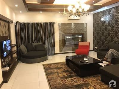 Fully Furnished 1 Kanal 3 Bed Upper Portion With Drawing Dinning Tv Lounge Kitchen Of A Beautiful House