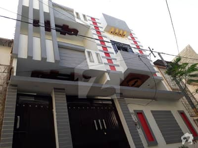 Brand new double story RCC house in North Karachi sector 5 C 2 80 yards