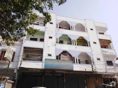 1100 Sq Feet 2nd Floor Flat Available For Sale In Unit No. 9 Hina Heights