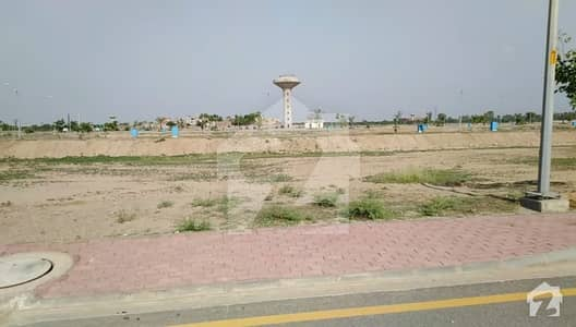 1 Kanal Residential Plot Boulevard Corner Available For Sale In Bahria Town Lahore Plot Number 719