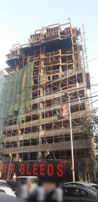 Under Construction Flat Is Available For Sale Main Khaliq-uz-zaman Road Clifton