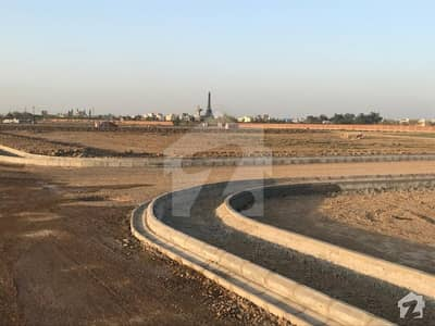 Corner Side 1 Kanal Develop Plot Available For Sale In Bahria Town Lahore