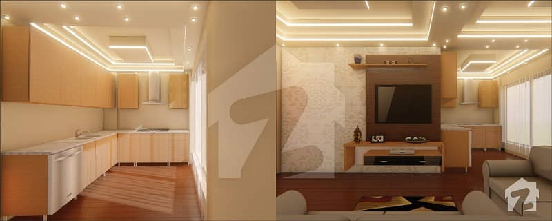 1 Bed Fully Furnished And Most Luxury Apartment For Sale On Installments