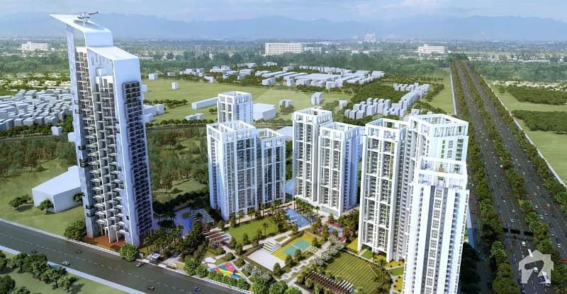 Facing Park 1 Kanal Residential Plot For Sale In Al Mairaj Garden On Easy Installments