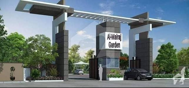 Al Mairaj Garden Islamabad 4 Marla Commercial  plot for sale on installments