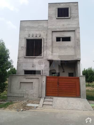 3 Marla Double Storey Grey Structure House Is Available For Sale