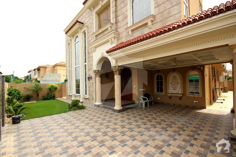 One Kanal Brand New Lavish Spanish Bungalow For Sale In Dha Phase 6