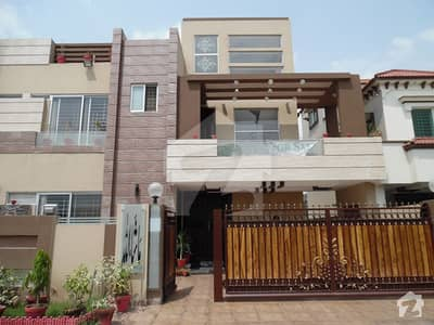 10 Marla Brand New Luxury House With Gas Ideal Location For Rent In Bahria Town Lahore