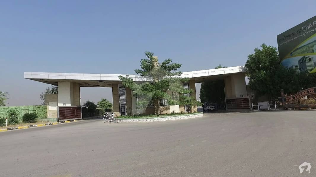 7.11 Marla Commercial Plot For Sale In Dha Phase 3 Old Sareen City