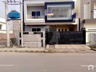 8.25 Marla Brand New House For Sale In D Block Of Al Rehman Phase 2 Lahore