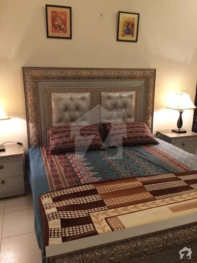 Out Class Fully Furnished 8 Marla Double Storey House Available
