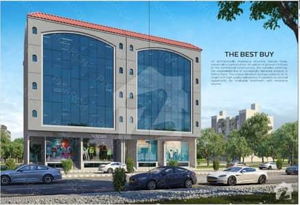 ڈی ایچ اے سٹی - سیکٹر 3 ڈی ایچ اے سٹی کراچی کراچی میں 2 مرلہ دفتر 58 لاکھ میں برائے فروخت۔