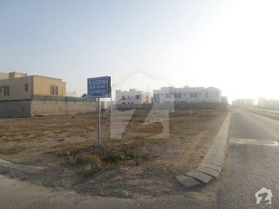 1000 Yards Plot 21st Street Between Khayaban E Faisal And Khayaban E Tipu Sultan  Zone B DHA Phase 8 West Open