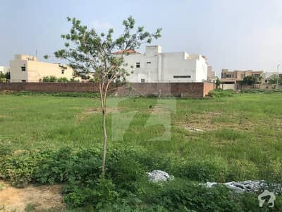 Plot For Sale In Dha Phase 8 Park View E84 Is Available