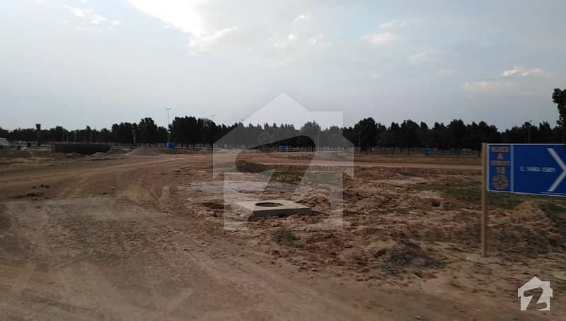 Fully Developed New Deal Open Form 5 Marla Plot For Sale In Olc A Block Bahria Orchard Lahore