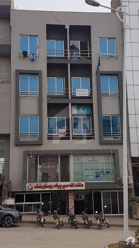 1 Bed 500 Sq Ft Flat For Sale Open View 2nd Floor Hub Commercial Bahria Town