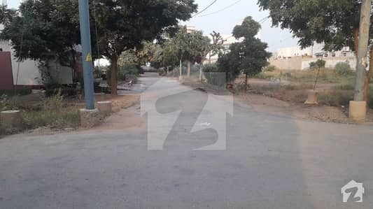 400 Sq Yds West Open Plot On Very Low Price